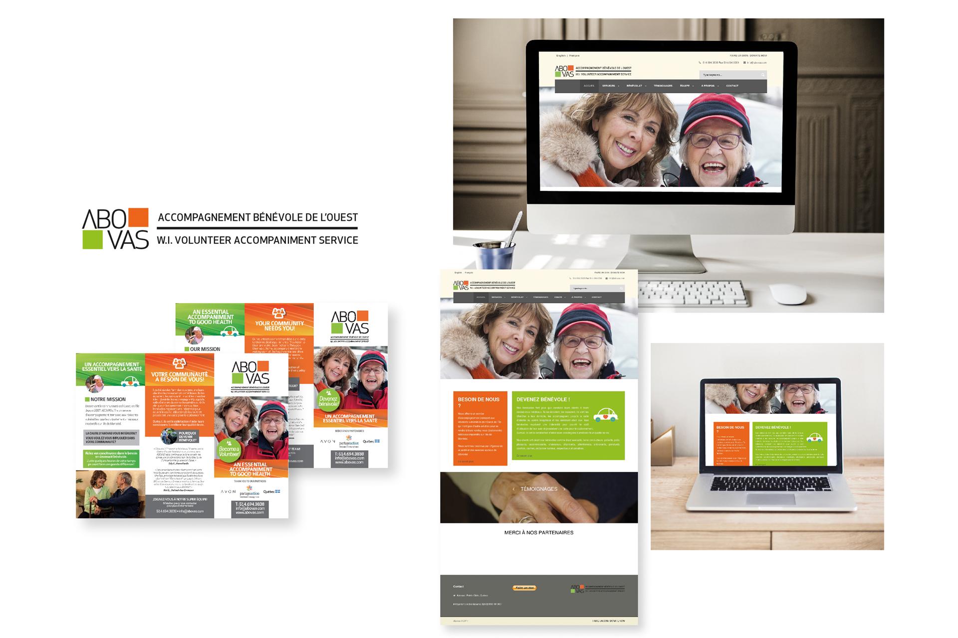 Campagne de publicité Abovas