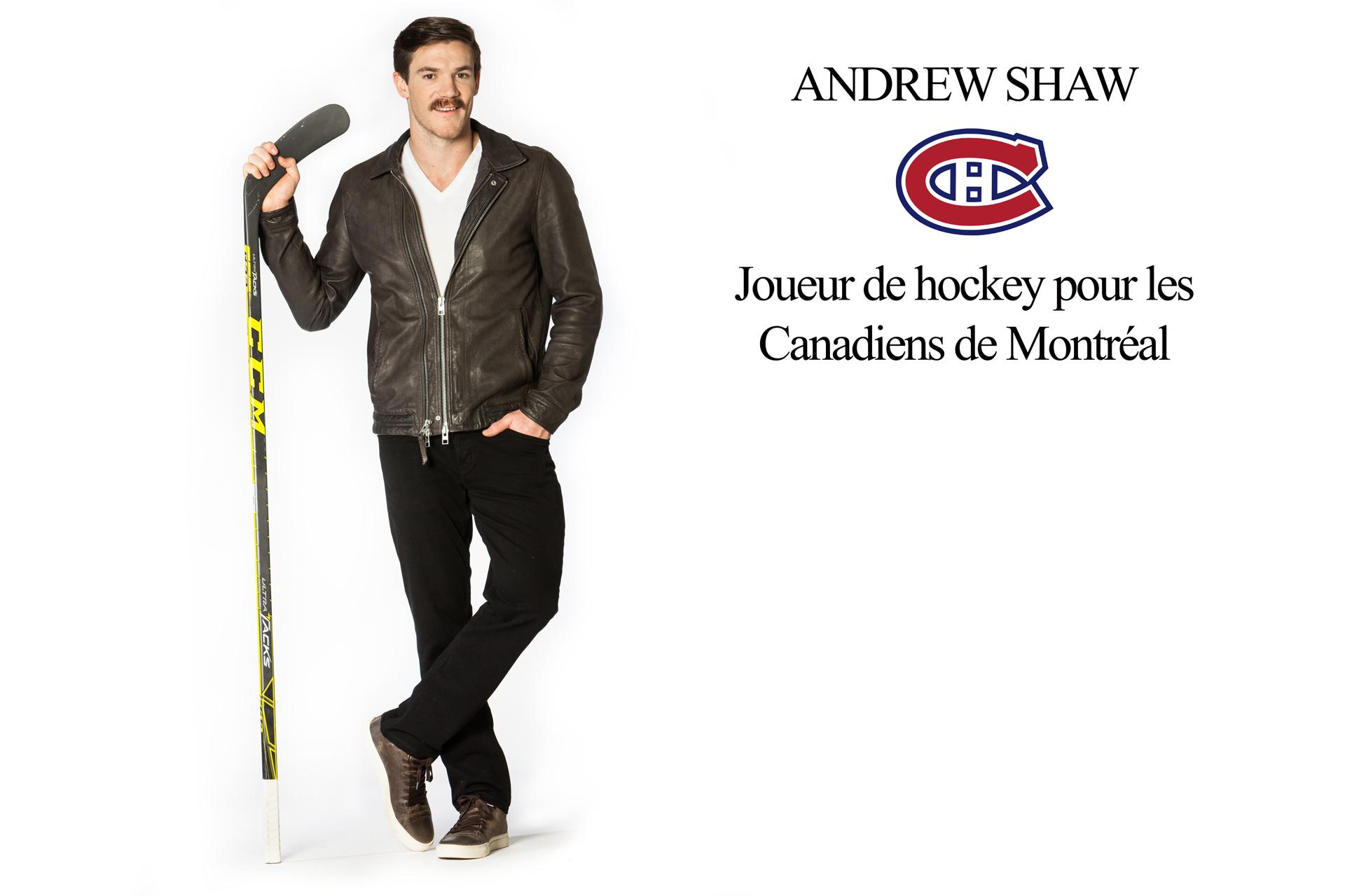 Andrew Shaw du Canadien de Montréal