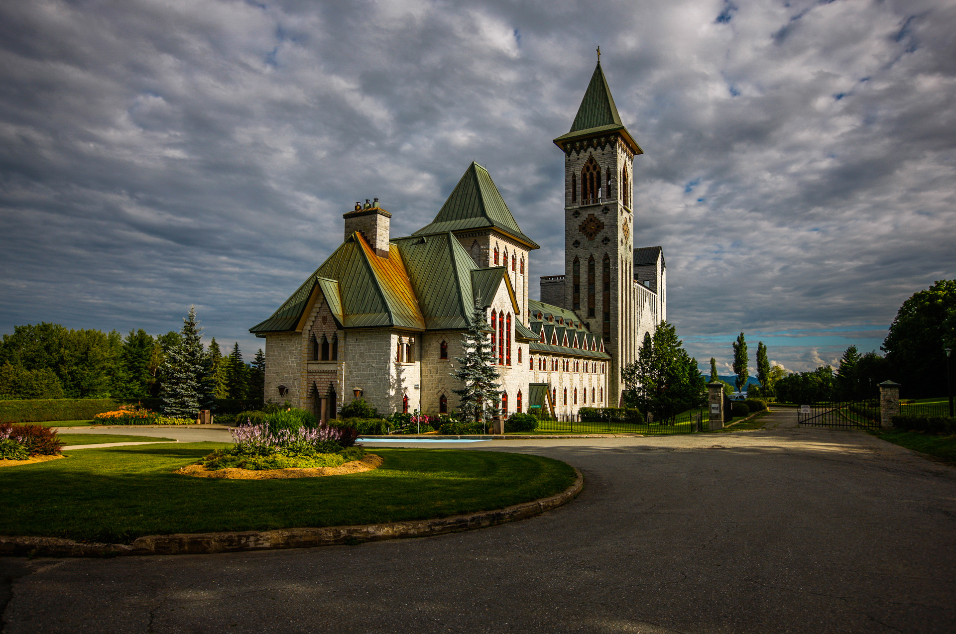 L'abbaye de St-Benoit du Lac
