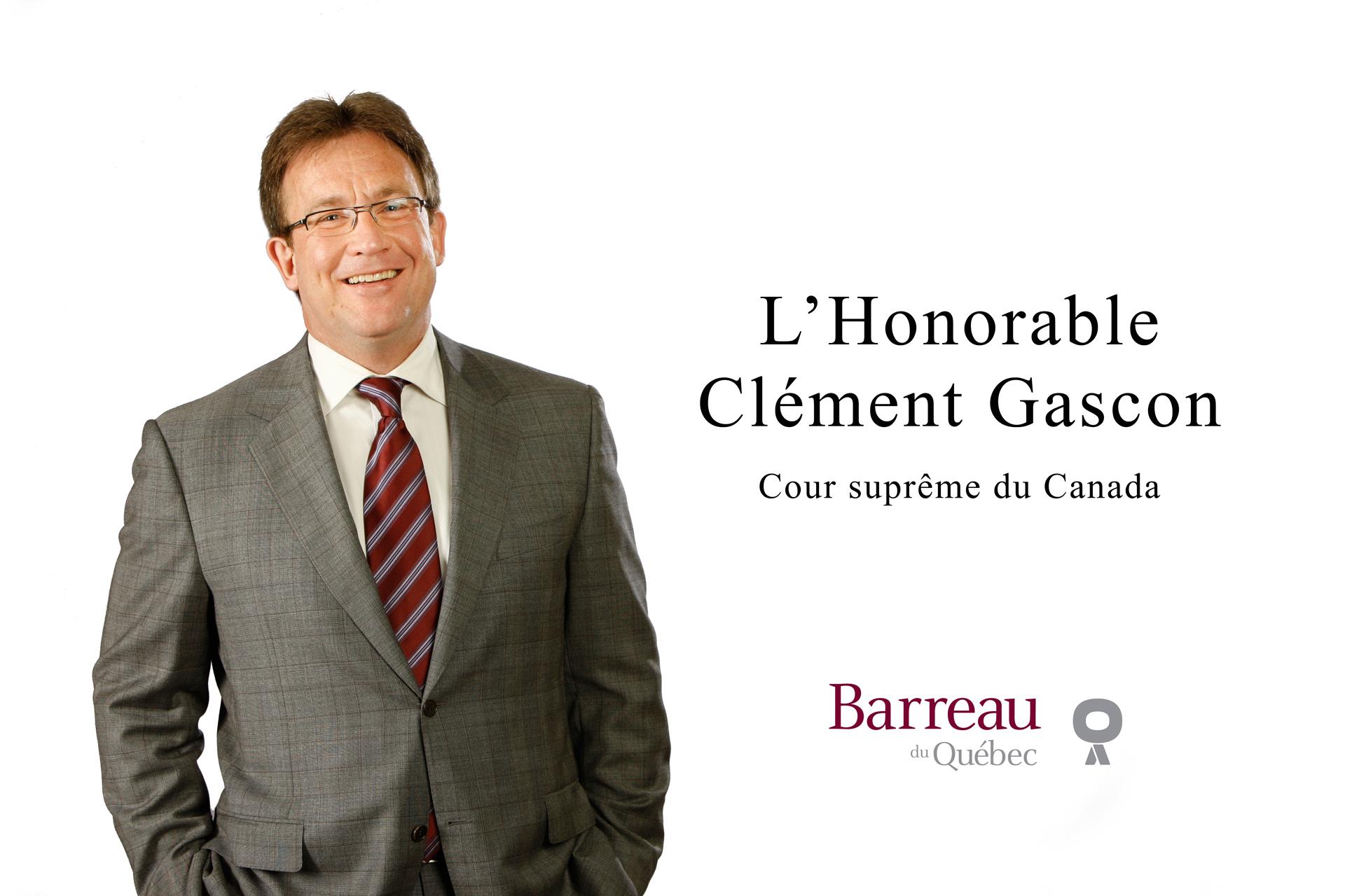 Juge Clément Gascon