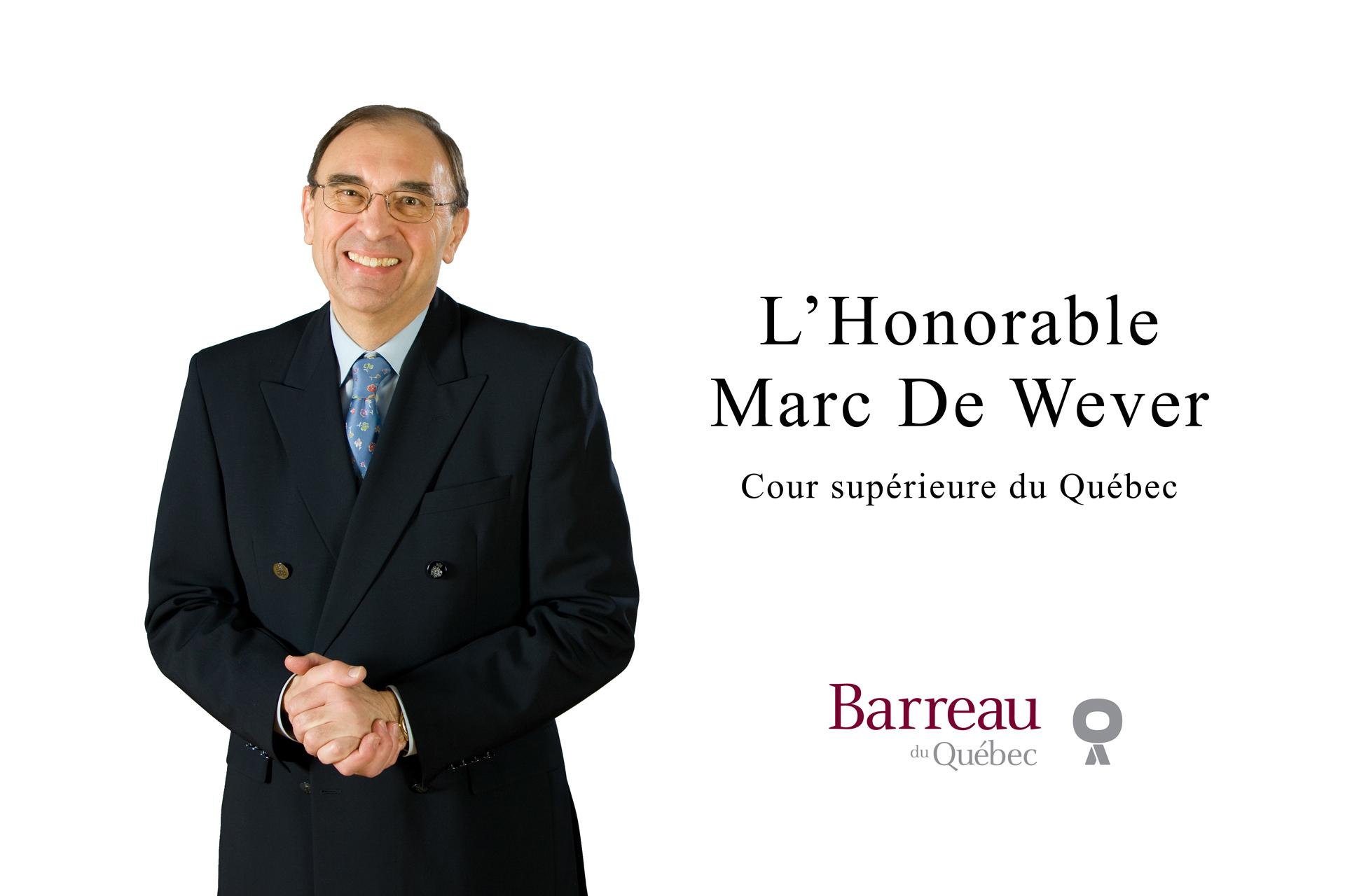 Juge Marc-De Wever