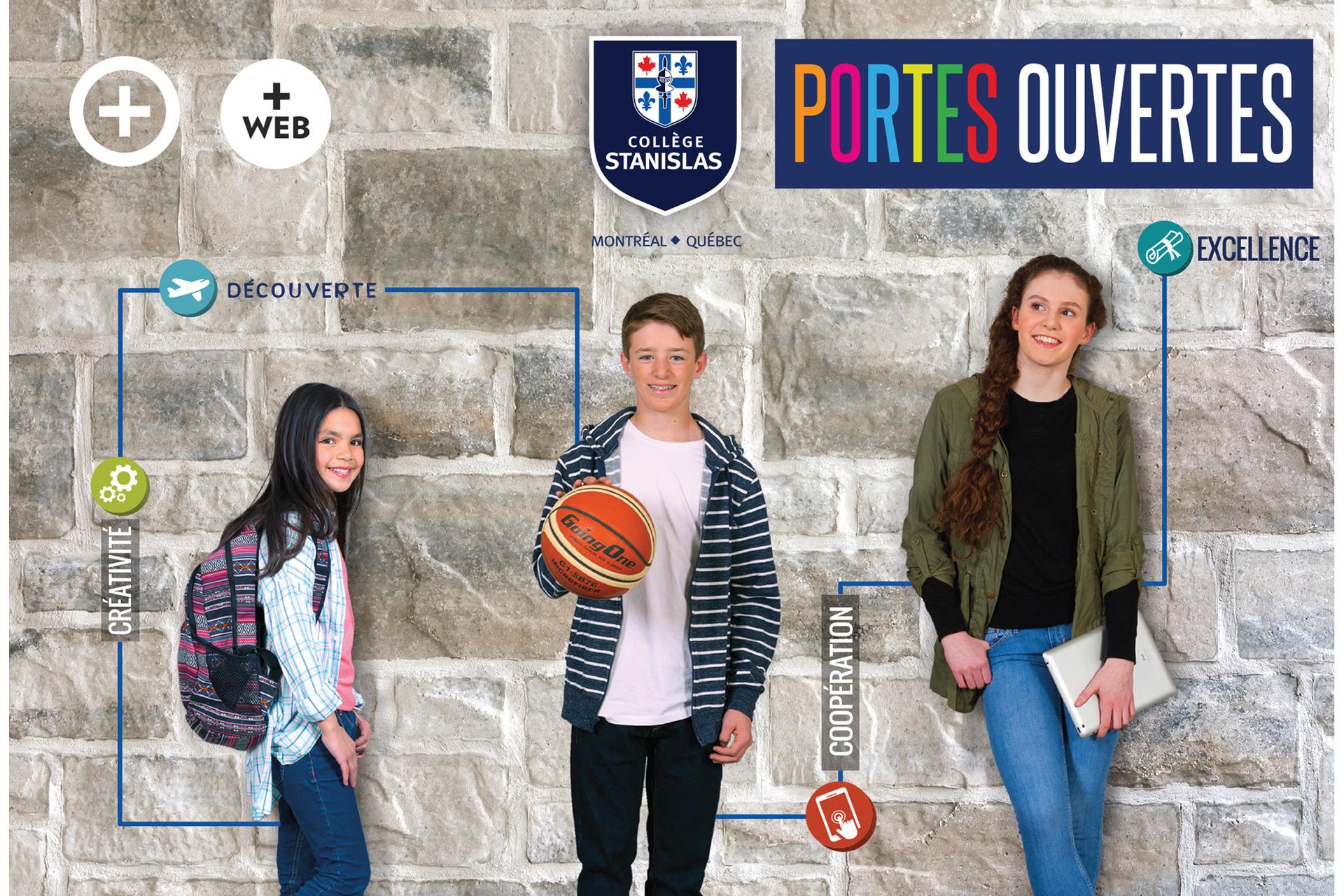 Campagne de publicité Collège Stanislas