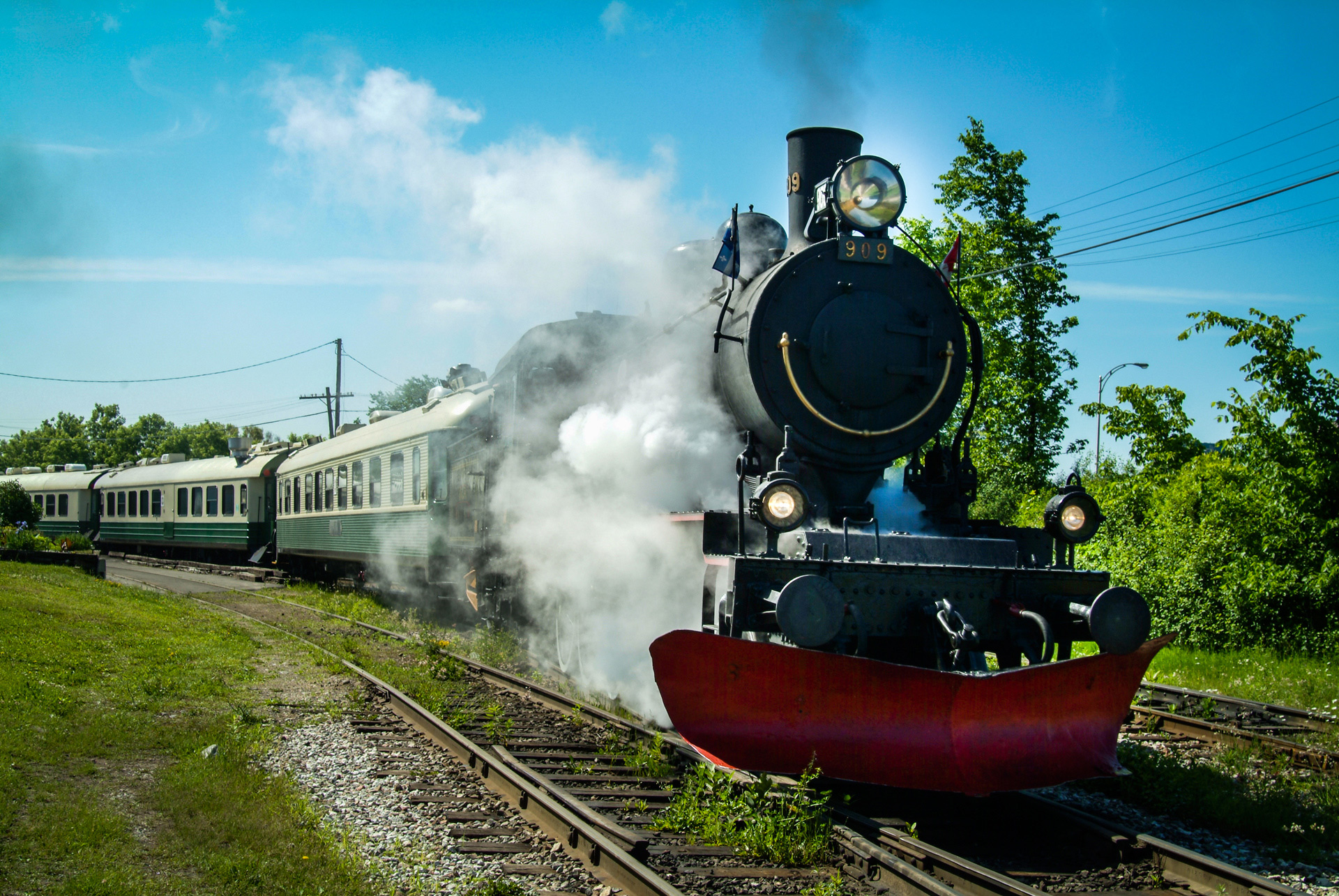 Train-a-vapeur