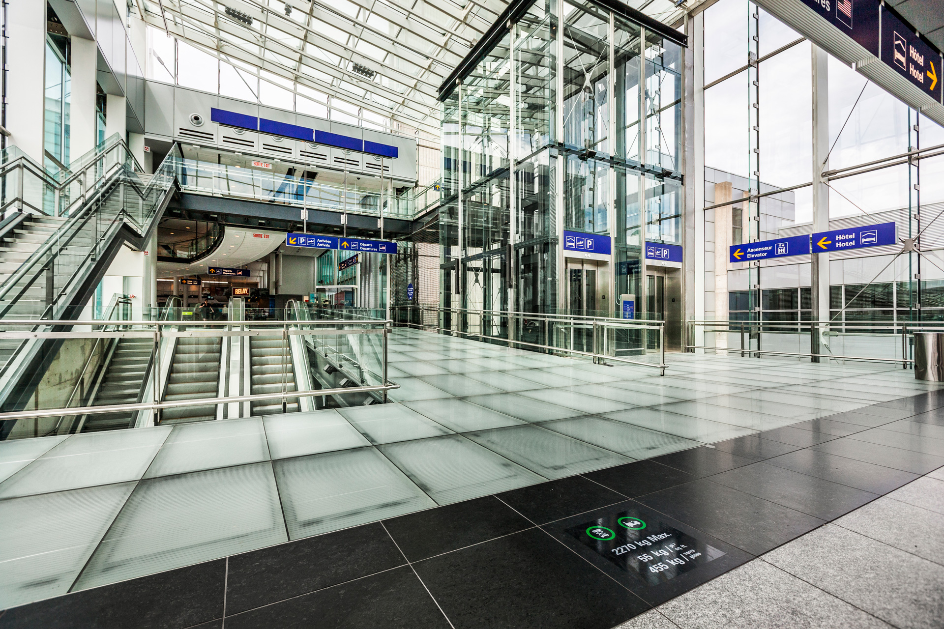 Opron Construction Montreal Airport