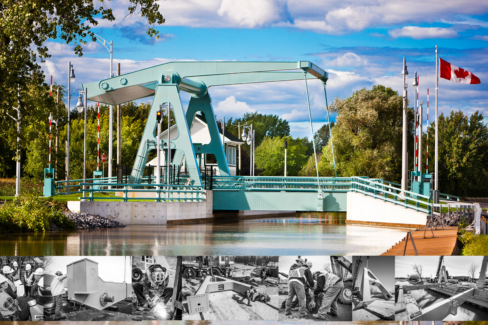 Opron Construction Pont levant Carignan