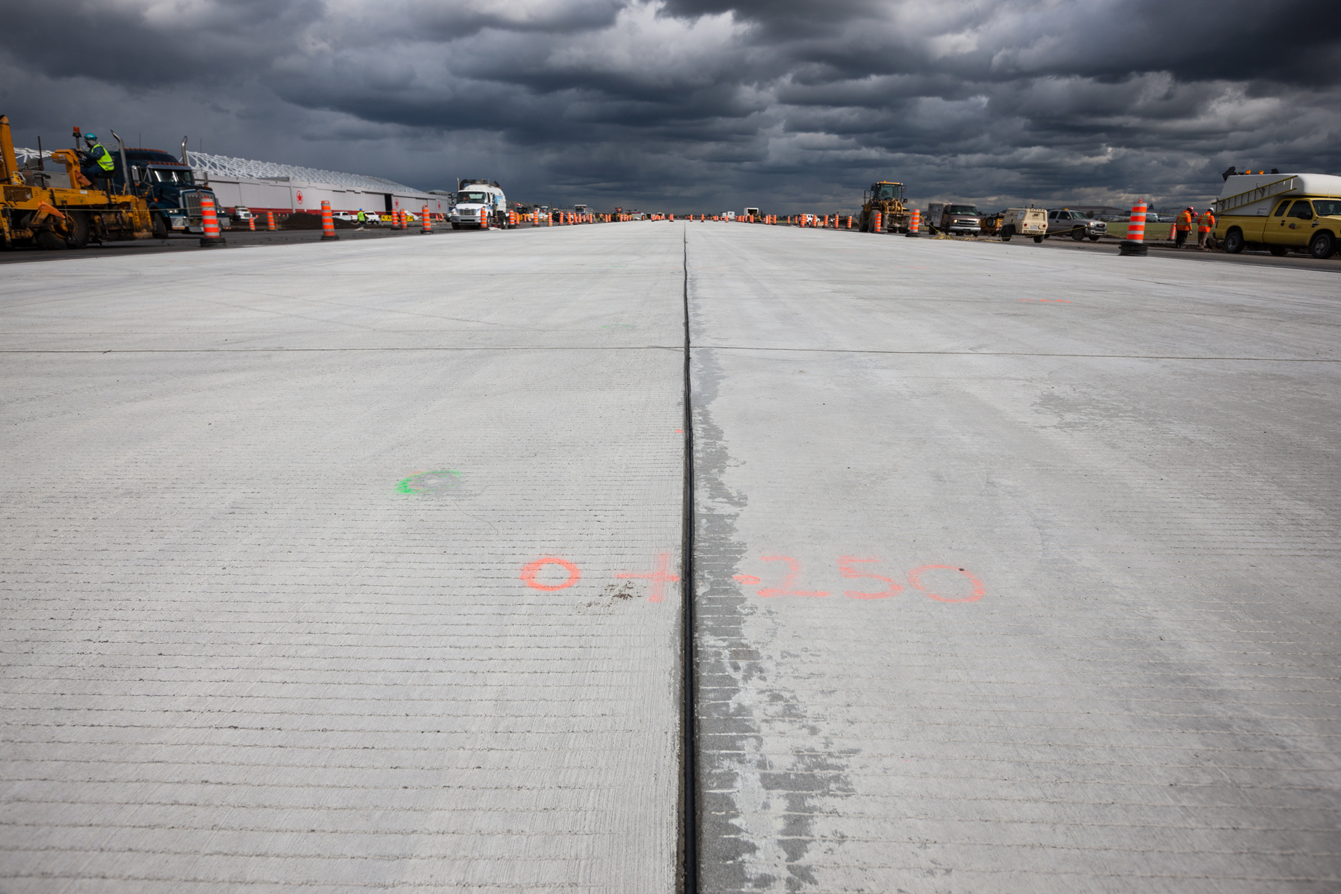 EBC Contruction Montreal Airport