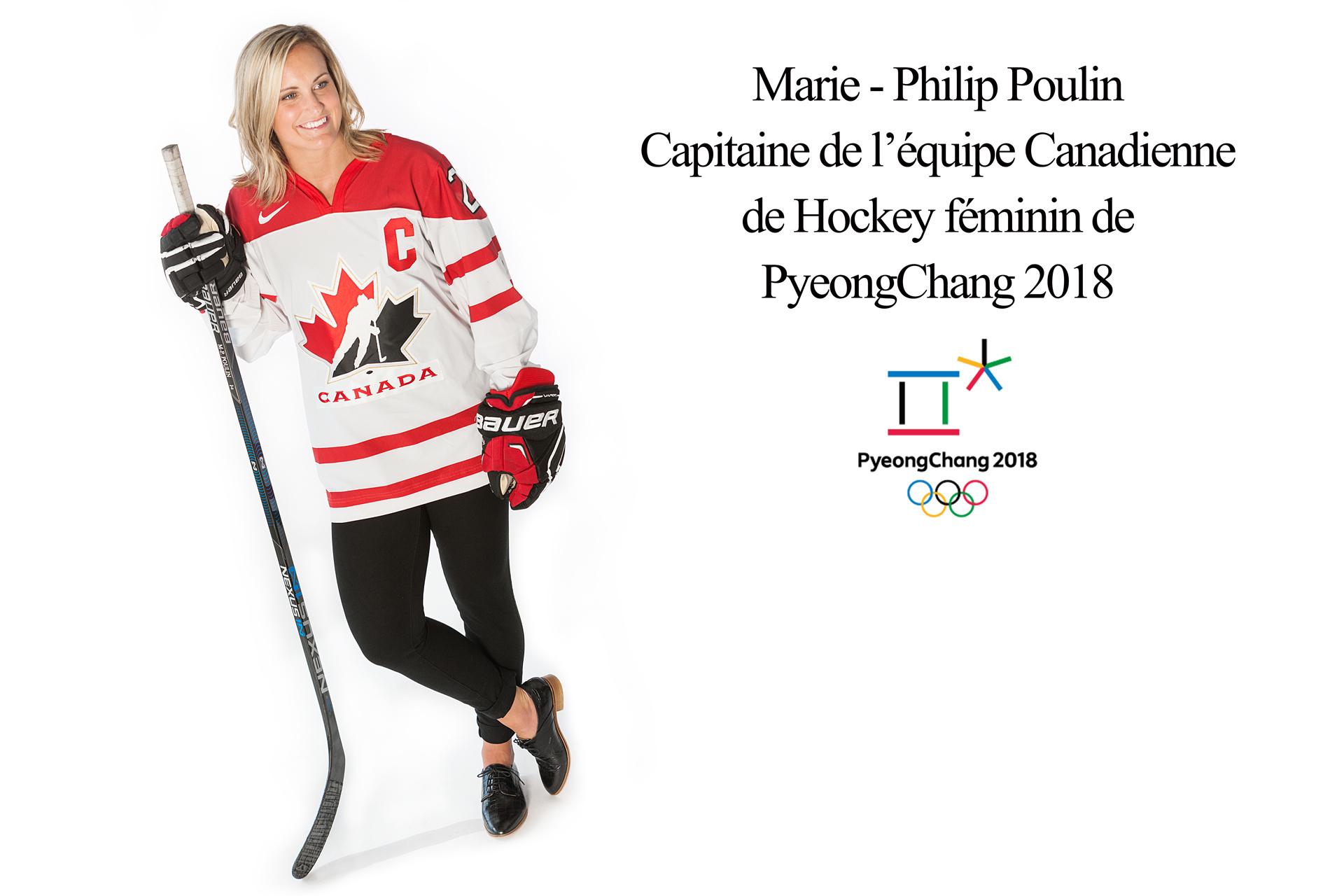Marie-philip Poulin Capitaine