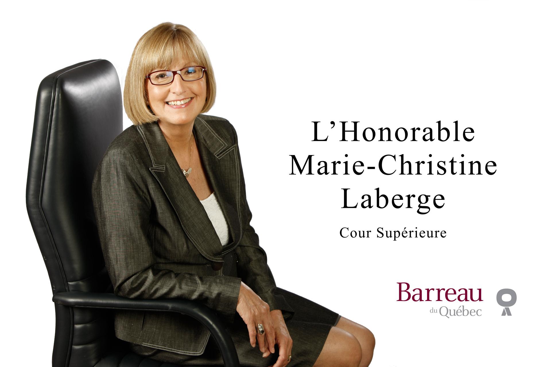 Juge Marie-Christine Laberge (Zen Branding Design & Com)