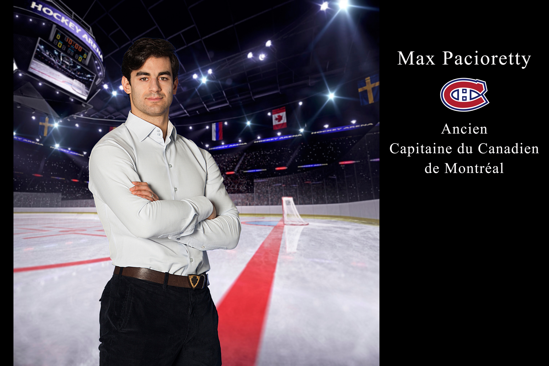 Max Pacioretty ancien capitaine du Canadiens de Montreal